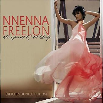 Nnenna Freelon - blåkopia av en dam [CD] USA import