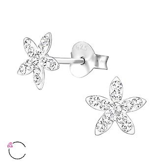 Flower crystal from Swarovski® - 925 Sterling Silver Children's Jewellery