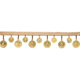 Gold Coin Trim 1 3 4