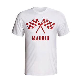 Atletico Madrid Waving Flags T-shirt (white) - Kids