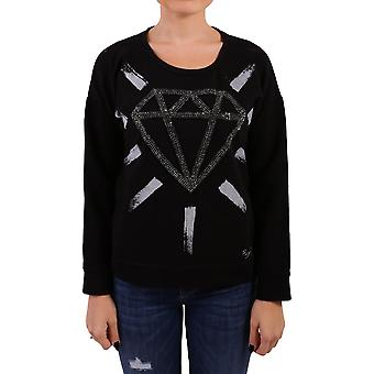 Roy Roger's women's RND720C645A020 black cotton sweater
