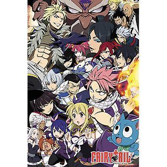 Fairy Tail saison 6 clés Maxi Art Poster