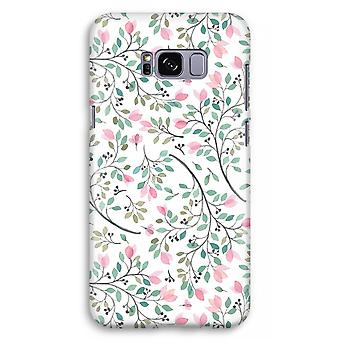 Samsung Galaxy S8 Plus Full Print Case (Glossy) - Dainty flowers