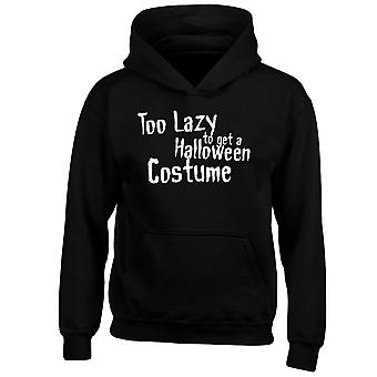 Too Lazy To Get Halloween Costume Kids Hoodie 10 Colours (S-XL) by swagwear