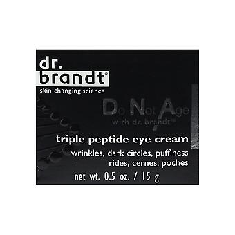 Dr. Brandt Do Not Age Triple Peptide Eye Cream 0.5oz/15g New In Box