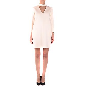 Jucca ladies MCBI466004O white polyester dress