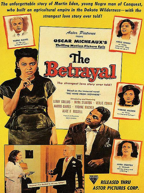 The Betrayal Movie Poster Oscar Micheaux (1948)