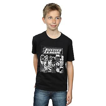 DC Comics Boys Justice League Stripes T-Shirt