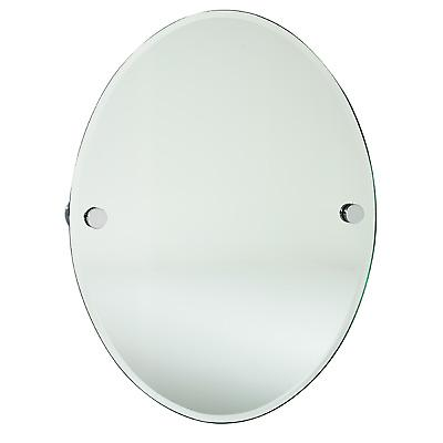 Loft Oval Bathroom Mirror - Polished Chrome LK310