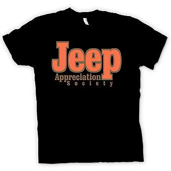Heren T-shirt-Jeep Appreciation Society