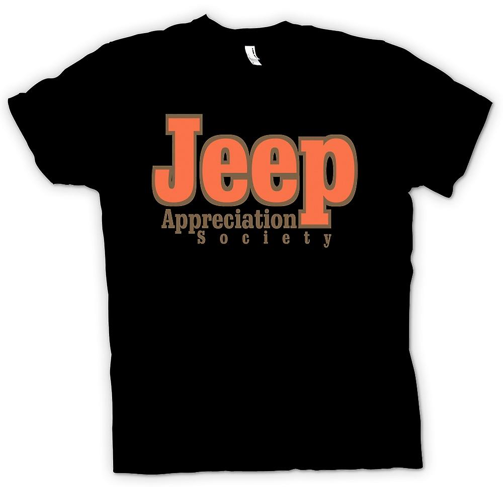 Kvinner t-skjorte-Jeep Appreciation Society
