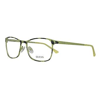 Guess glasses Green