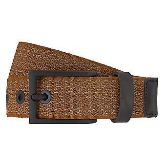 LLOYD Men's belts mesh belts men's belts leather Cognac 7193 fed