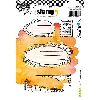 Carabelle Studio Cling Stamp A6-Art Mailing