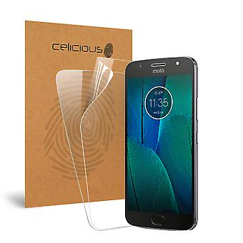 Celicious Vivid Invisible Screen Protector for Motorola Moto G5S Plus [Pack of 2]