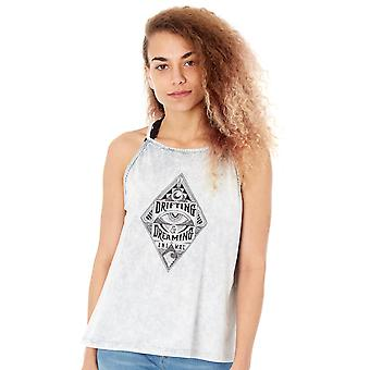 Animal Asphalt Grey Plaited Womens Cami Top