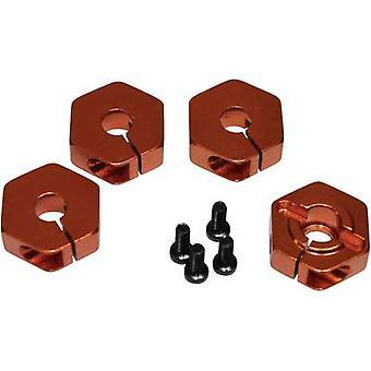 Repuesto eje hexagonal de equipo C T01048 aluminio