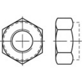 TOOLCRAFT 135401 Locknuts M4 DIN 985 Steel zinc galvanized, yellow chromated 100 pc(s)
