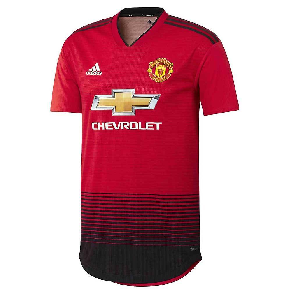 2018-2019 Man Utd Adidas Home Adi Zero Football Shirt