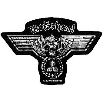 Motorhead Hammered Shaped Sew-On Cloth Patch