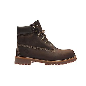 Timberland 6 inch premium junior real leather boots Brown