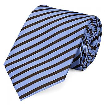 Tie tie tie tie 8cm light blue Brown striped Fabio Farini