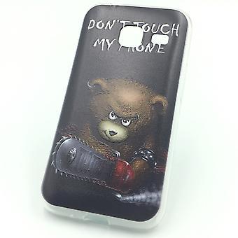 Mobiele telefoon geval voor Samsung Galaxy J1 mini Beer don't touch Pocket cover motief slank