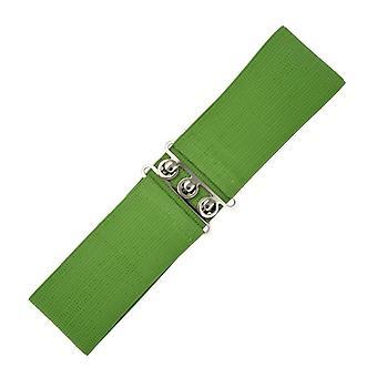 Dancing Days Olive Vintage Stretch Belt S