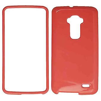 Unlimited Cellular Snap-On Case for LG G Flex - Honey Light Red