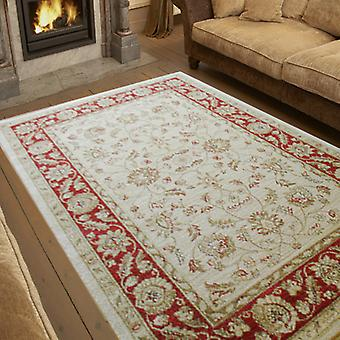 Ziegler Rugs 7709 In Cream And Red