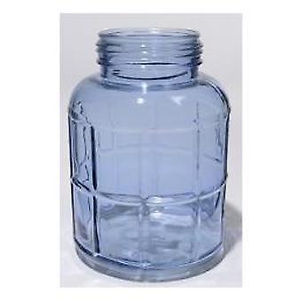Glass wind light/vase 14x20cm