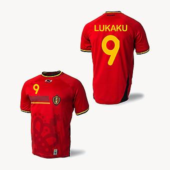 2014-15 Belgium World Cup Home Shirt (Lukaku 9) - Kids