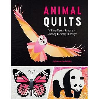 Djur täcken - 12 fantastiska papper pusslas djur täcken av Juliet Heijd