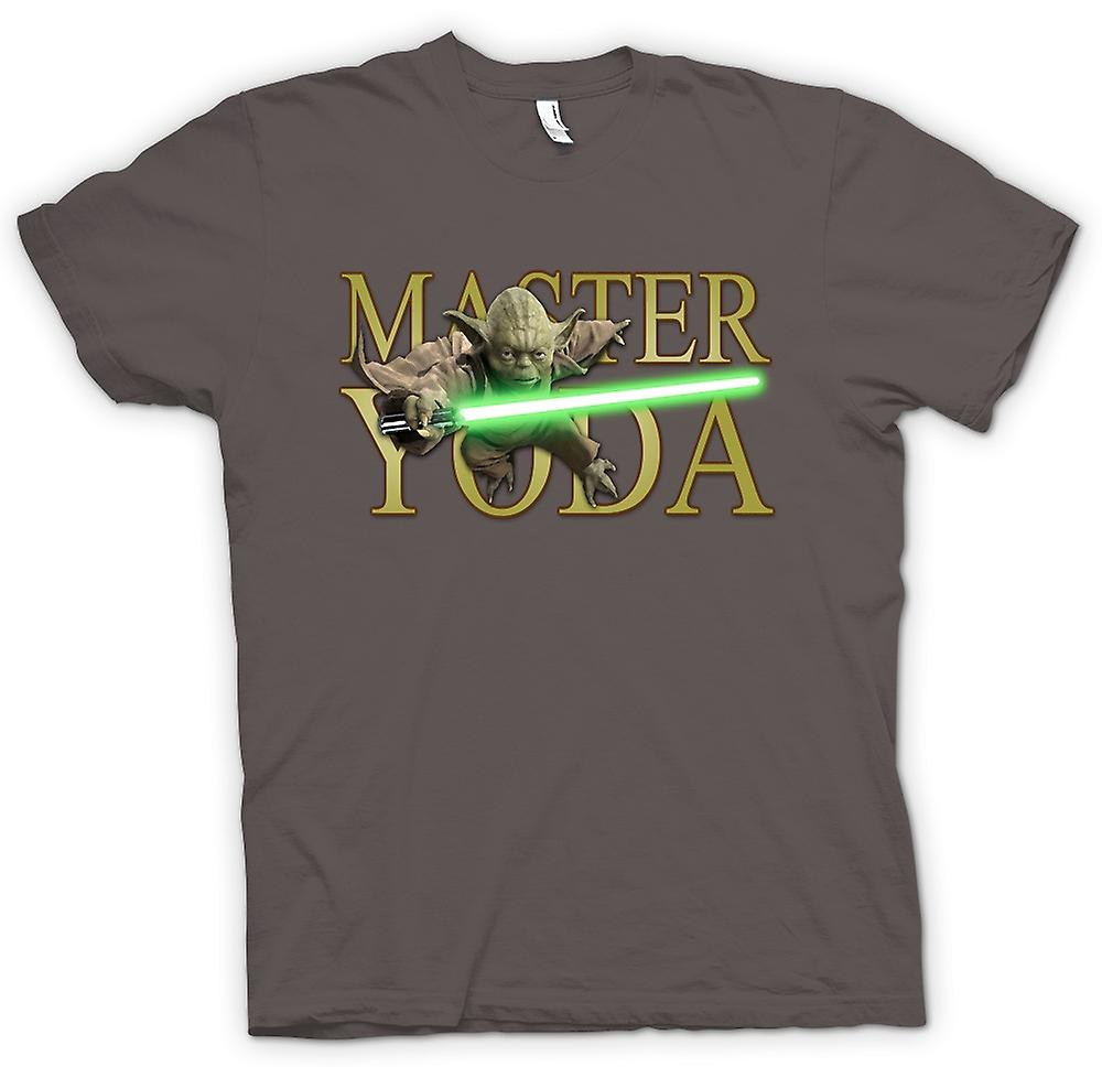 Womens T-shirt - Master Yoda - Jedi - Star Wars - Movie