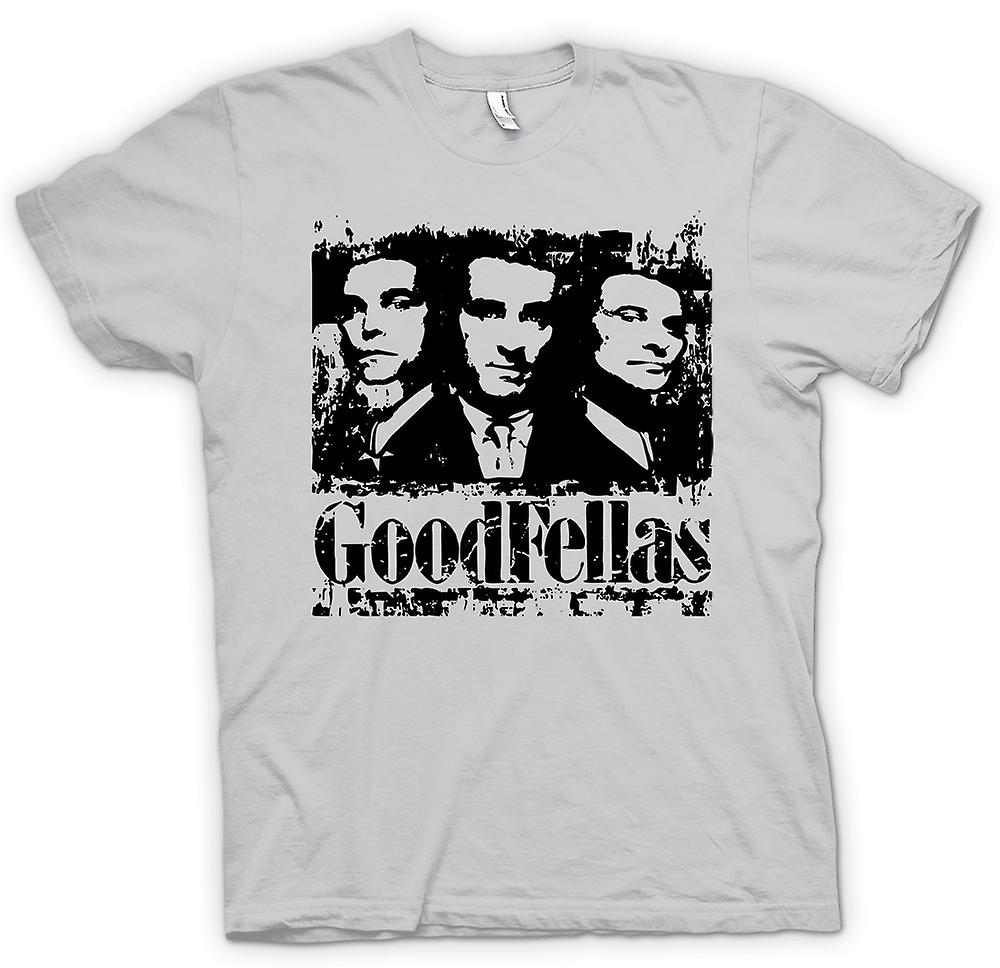 Mens T-shirt - Goodfellas - Distressed Mafia