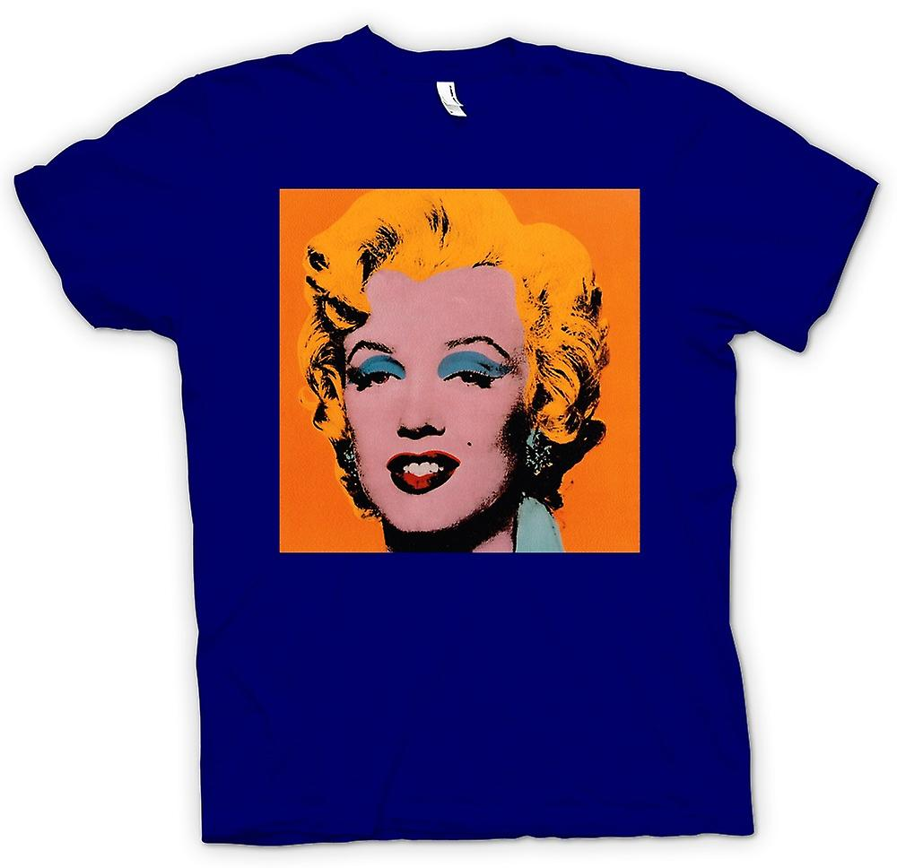 Herr T-shirt - Marilyn Monroe - Warhol - Esq - Pop Art