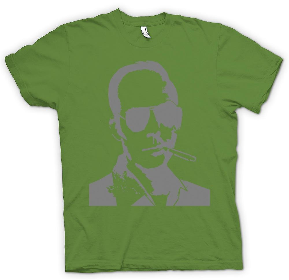 Heren T-shirt-Hunter S Thompson Fear And Loathing