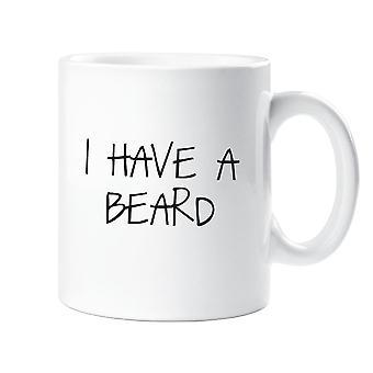 Ich habe einen Bart-Becher