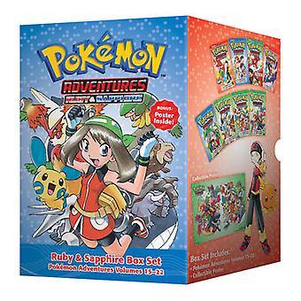 Pokemon Adventures Ruby & Sapphire Box Set - Volumes 15-22 by Hidenori