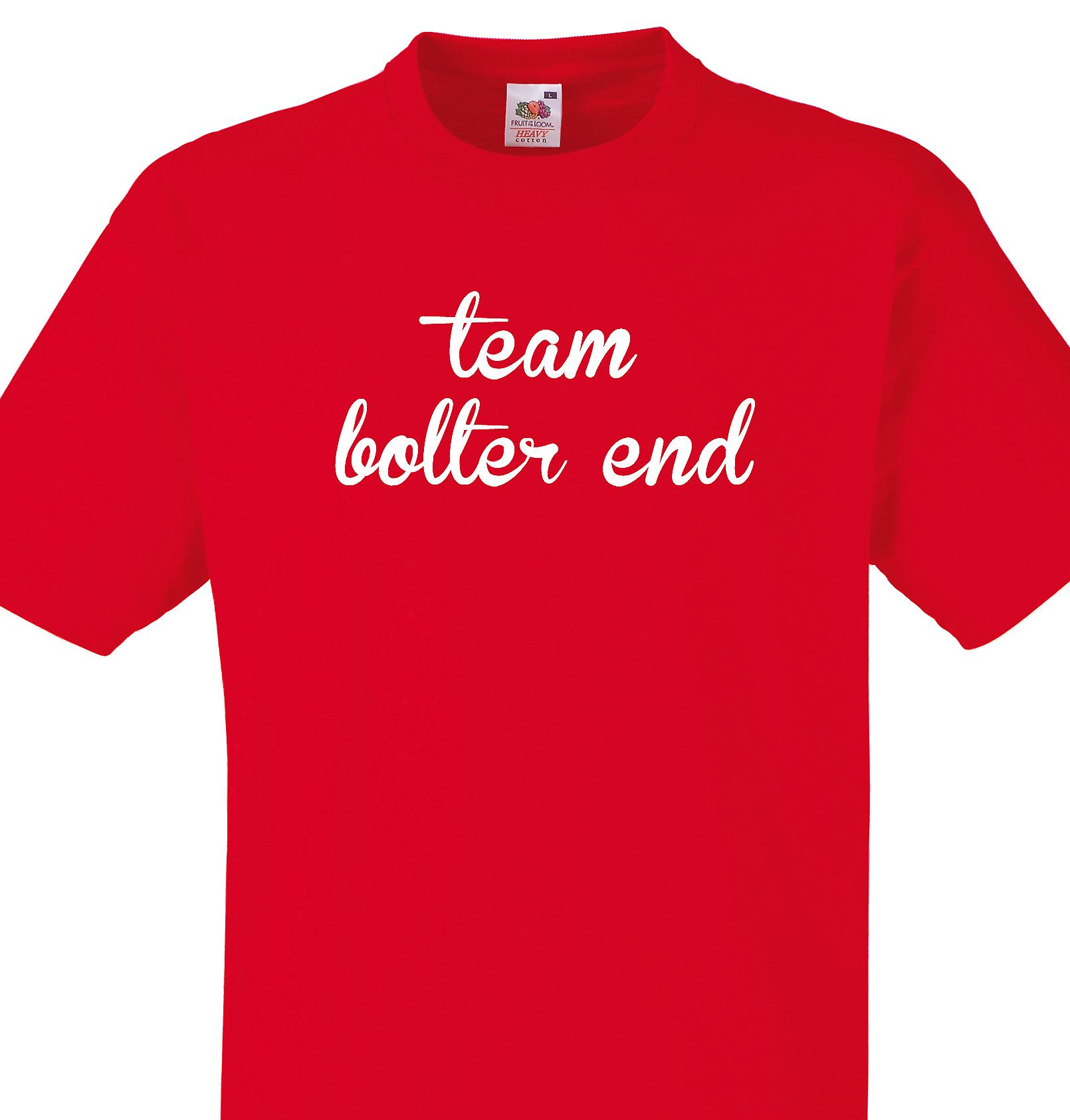 Team Bolter end Red T shirt