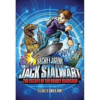The Escape of the Deadly Dinosaur: USA (Secret Agent Jack Stalwart)