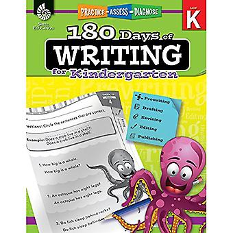 180 Days of Writing for Kindergarten (Level K): Practice, Assess, Diagnose
