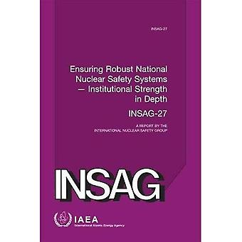 Ensuring Robust National Nuclear Safety Systems - Institutional Strength in Depth: A Report by the International Nuclear Safety� Group (INSAG Series)