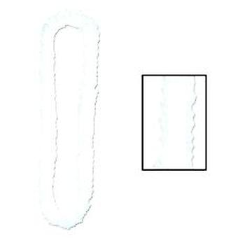 Soft-Twist Poly Leis - White (1)