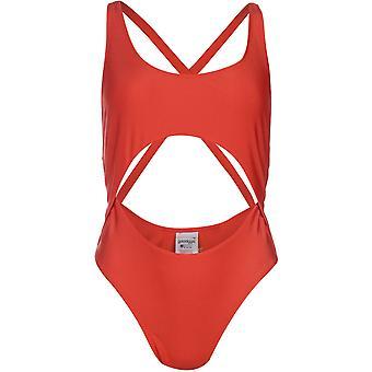 Golddigga Womens Cut Out Swimsuit Ladies