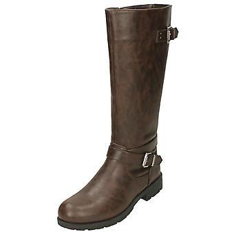 Ladies Down To Earth Knee High Boots