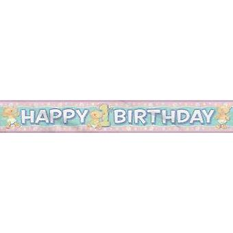 Foil Banner - Babys 1St Birthday