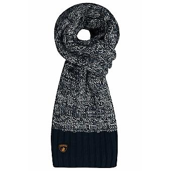 SANTA MONICA Navy Knitted Scarf