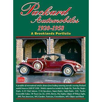 Packard Automobiles 1920-1958 a Brooklands Portfolio by R. M. Clarke