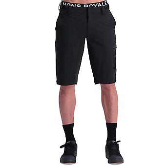 Mons Royale Black Momentum MTB Shorts